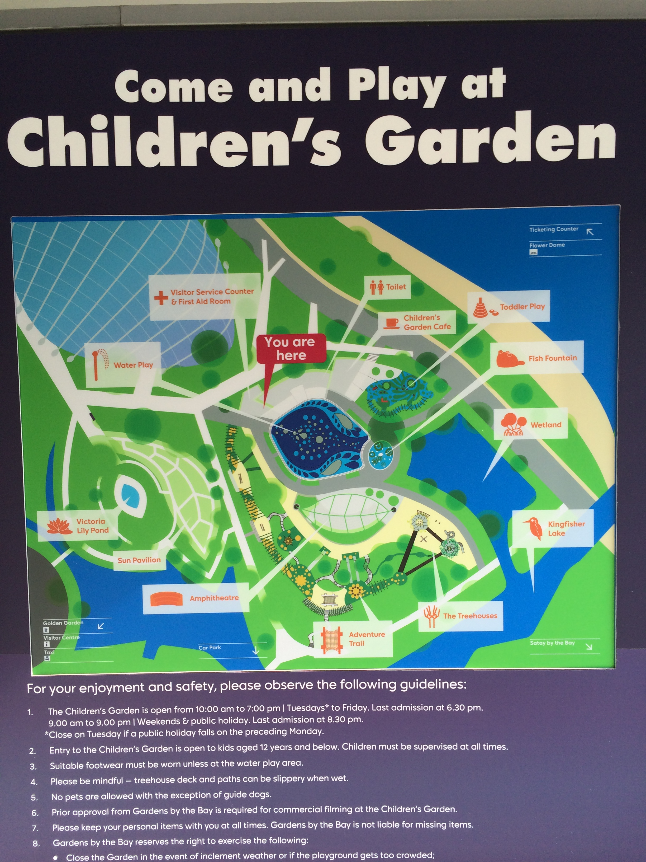 simple garden by the bay children s park with us on instagram