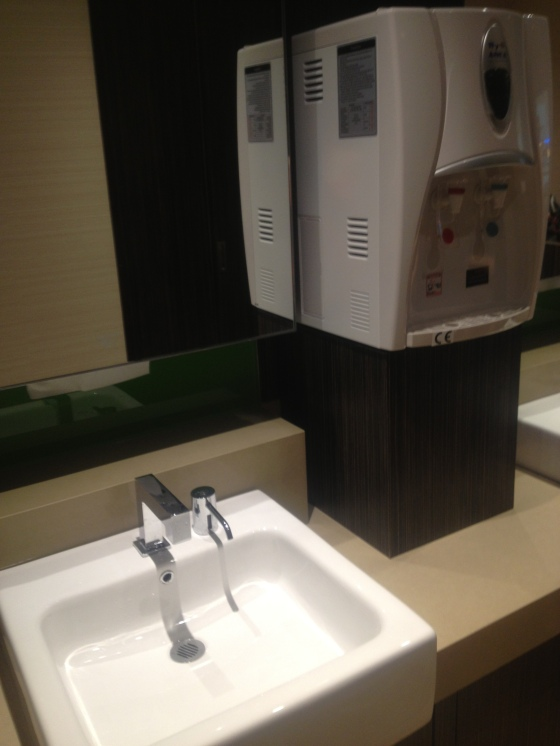 Sink and Hot/Cold water dispenser