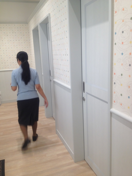 Doors to breastfeeding rooms