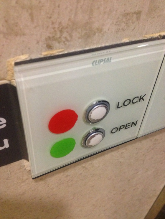 electronic locks for the doors